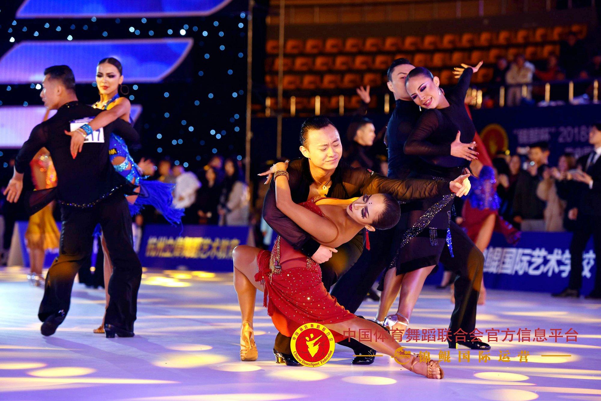 """""""锦鲲杯""""中国体育舞蹈公开系列赛总决赛"""