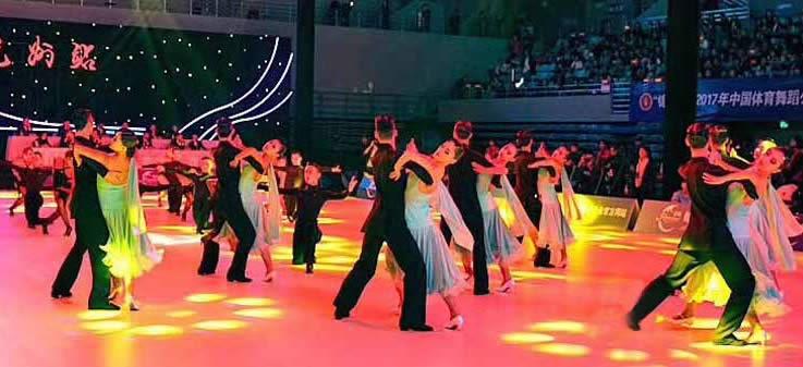 """""""锦鲲杯""""2017年中国体育舞蹈公开系列赛(杭州站)"""